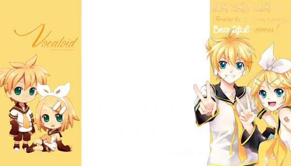 Habillage 6 - Vocaloid Rin & Len