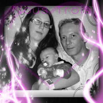 Ma cherie, mon fils Mathis et moi
