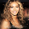 Happy Birthday Beyonce !!!!!