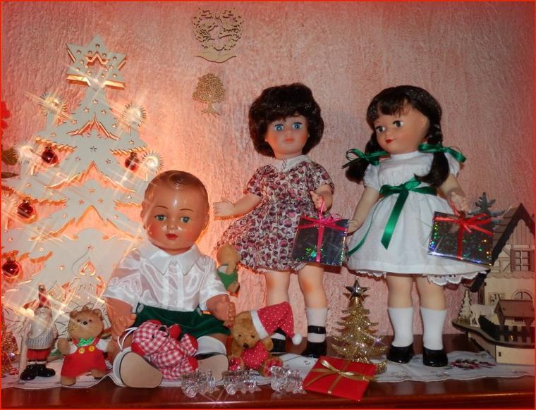 Michel, Marie-Françoise et Francette préparent Noël !