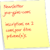 Newsletter On jeux-gains-coms