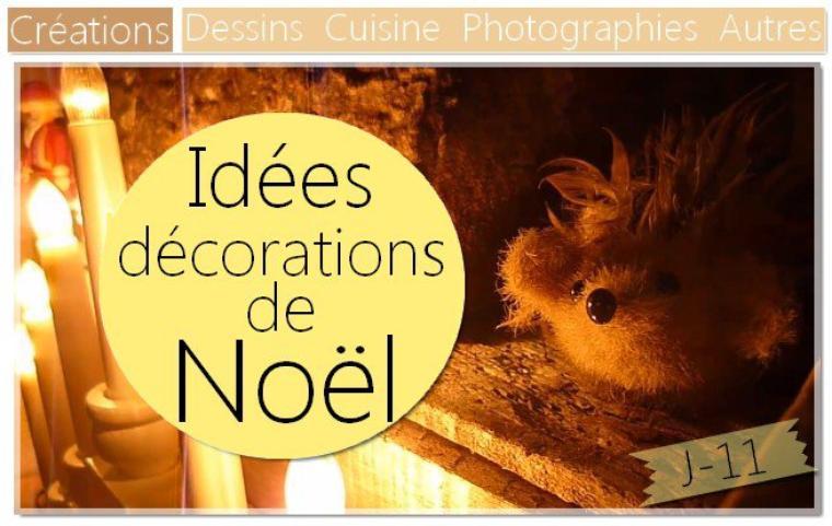 Idées de décoration pour Noël