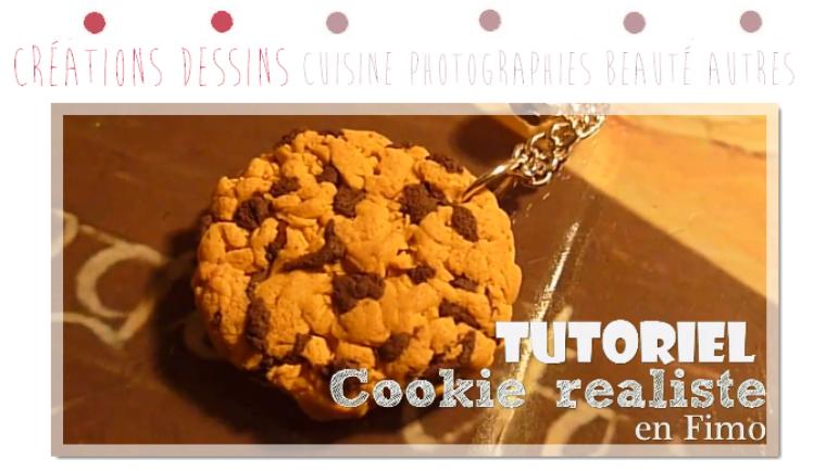 Tutoriel -  Réaliser un Cookie réaliste en Fimo