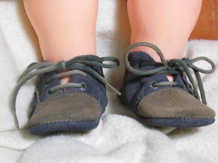 Premières petites chaussures