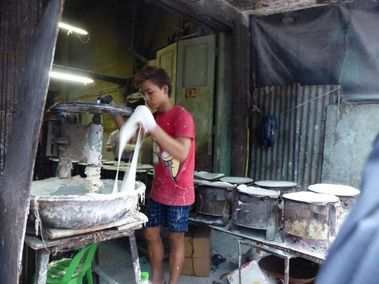 Myanmar 4-2 : Marché alimentaire