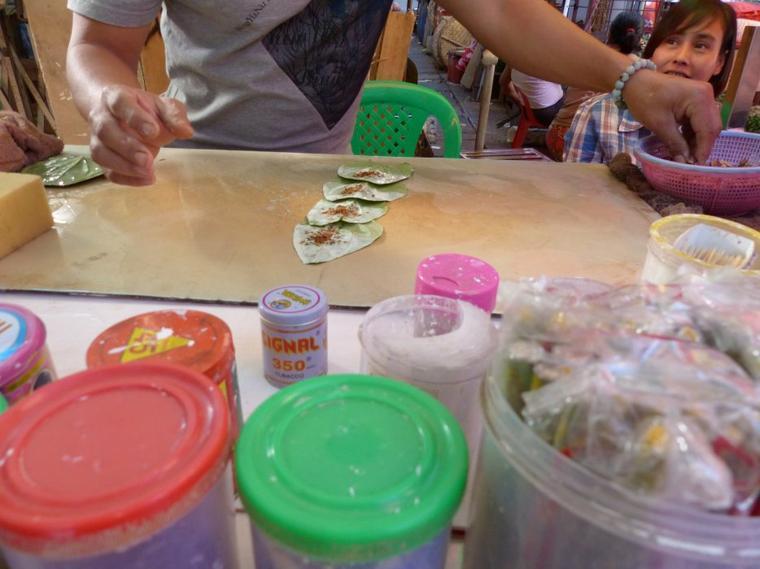 Myanmar 4-3 : Marché alimentaire