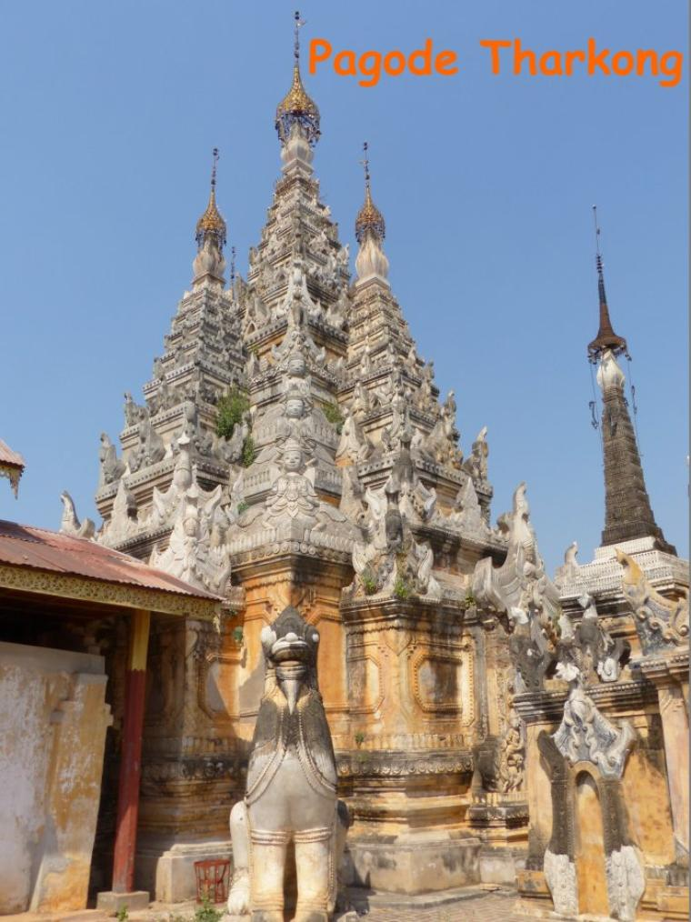 Myanmar 7 : Quelques pagodes