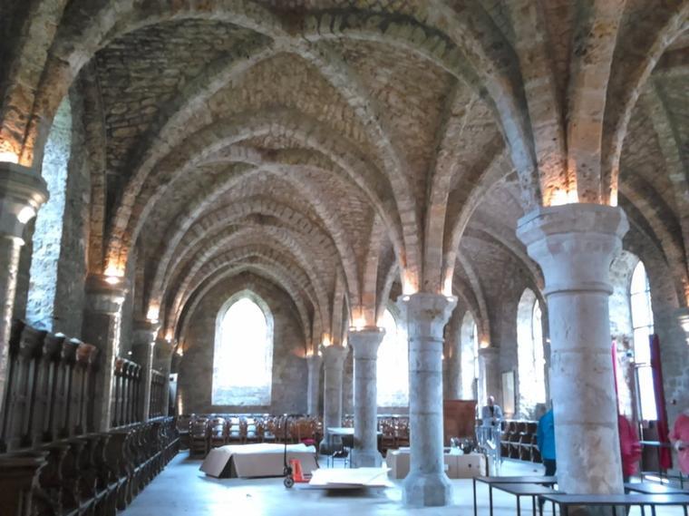 Yvelines : L'abbaye des Vaux de Cernay