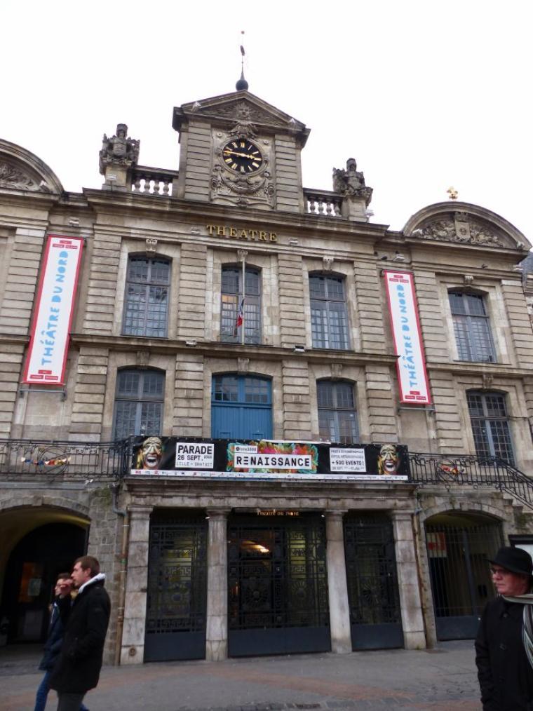 Le centre de Lille