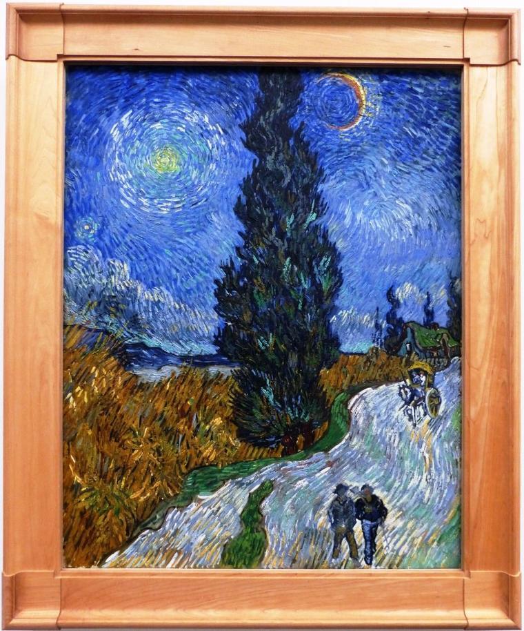 Hollande: musée Kröller Müller: les tableaux