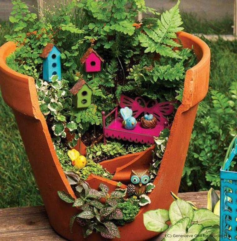 De bien jolis jardins miniatures