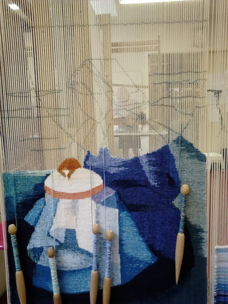 Reprise des ateliers tapisserie de haute-lisse