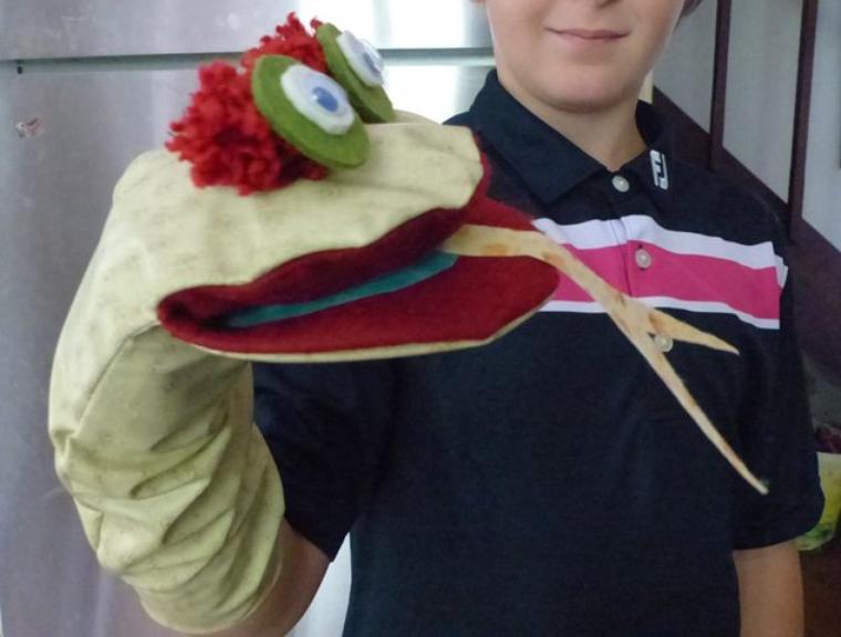 Marionnette serpent