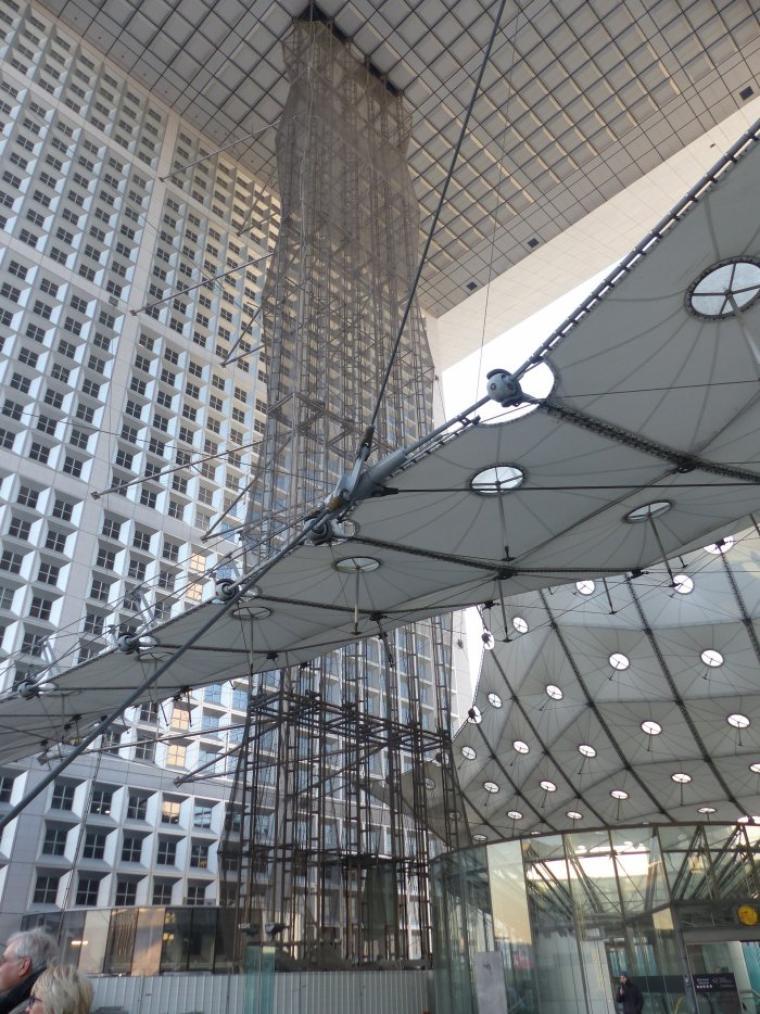 La Défense : Arche et reflets