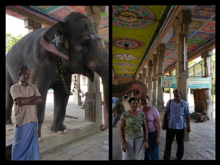 Inde : Route de Tanjore, temple Brihadishvara, classé à l'UNESCO