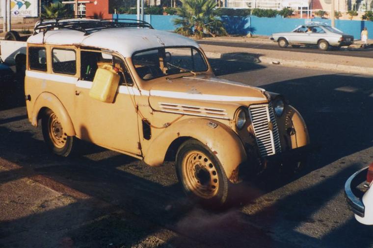Ancien véhicule