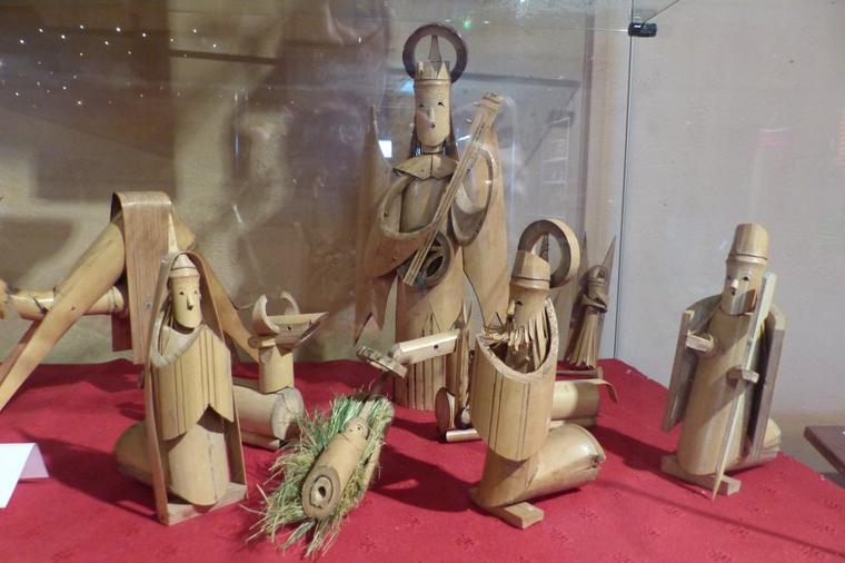 Musée de la crèche à Muzeray en Lorraine