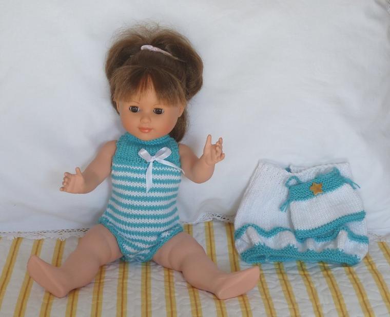 Tenue d'août au tricot