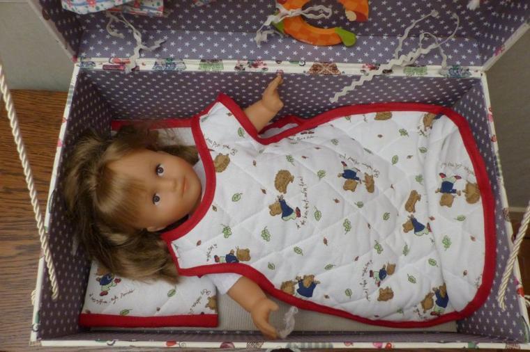 Camille peut faire sa première nuit dans sa malle