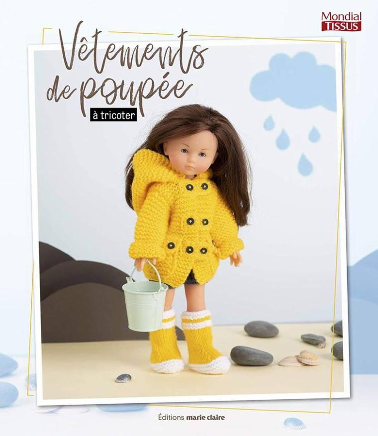 Livre tricot pour poupées chez Mondial Tissus
