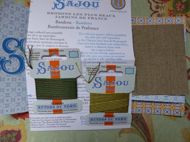 Kits Sajou reçus très, très vite
