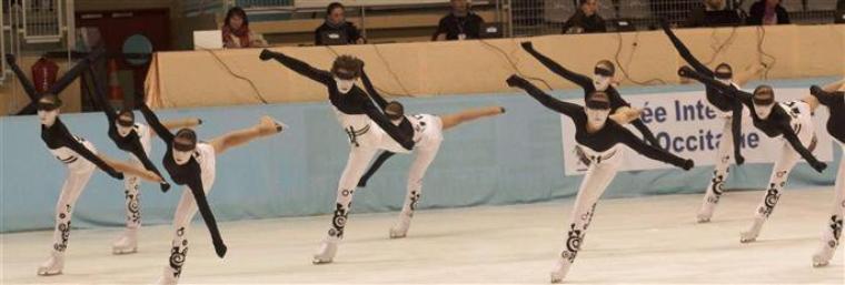 """Patinage: Le Ballet sur glace """" LE sport de l'hiver """" by the world champion Edlihtam"""