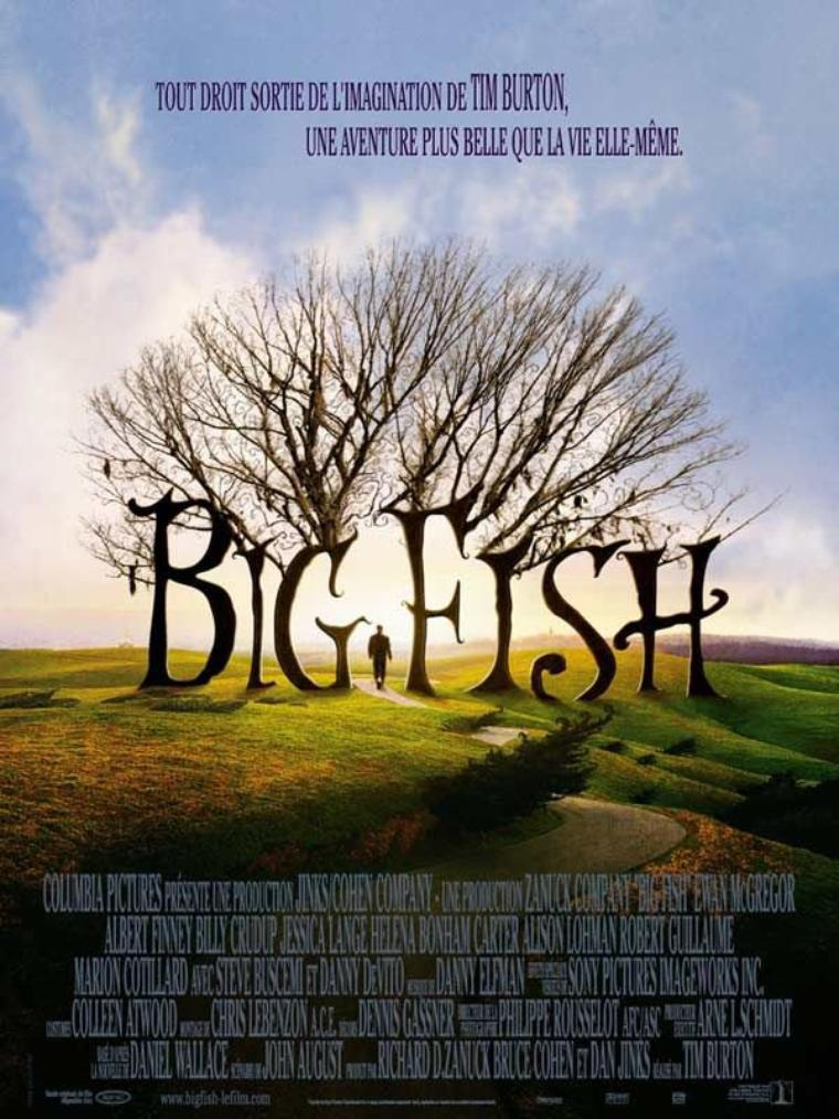 """Big Fish """" Le véritable conte de Noël, du génie intarissable Tim Burton """""""