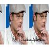 """Notre """"charmant"""" Brad Pitt dans son plus grand naturel.. Vos avis mesdames ?!  :oMets pas tes doigts dans le nez tu suces encore ton pouce, fais pas ci fais pas ça .. ♫"""