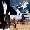 . . MAGNIFIQUES IMITATIONS  ;)  Quand Justin est en mode Michael Jackson ou Jackie Chan, ça donne ça.  MJ, 1 an déjà, RIP ♥  24 juin : Justin Bieber en concert, Trenton. . .