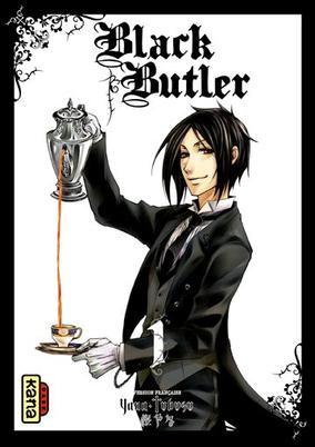 Black Butler tomes 1 à 8