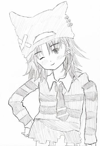 Mes dessins 3 blog de momo chan001 nile momo fic skyrock - Dessin tres dur ...
