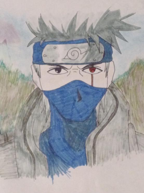 Concour dessin kakashi naruto phiphisasaki - Dessin kakashi ...