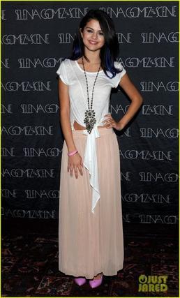Selena Gomez a un concert  de charité pour l' UNICEF