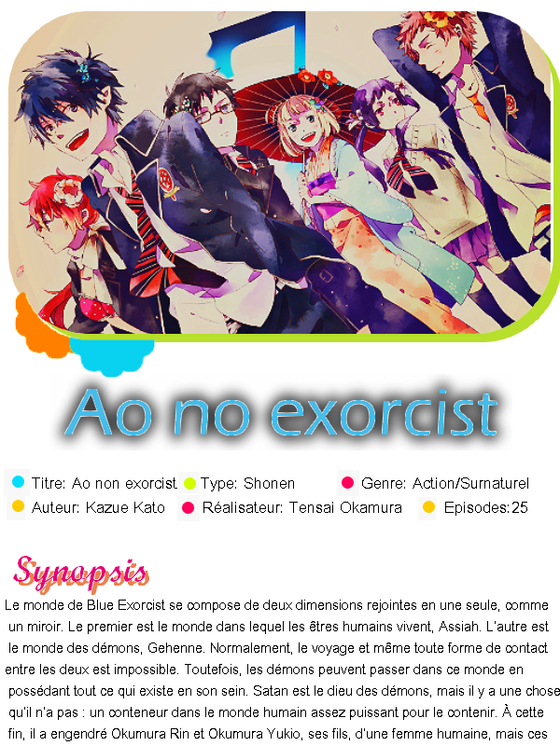 ► Ao no exorcist