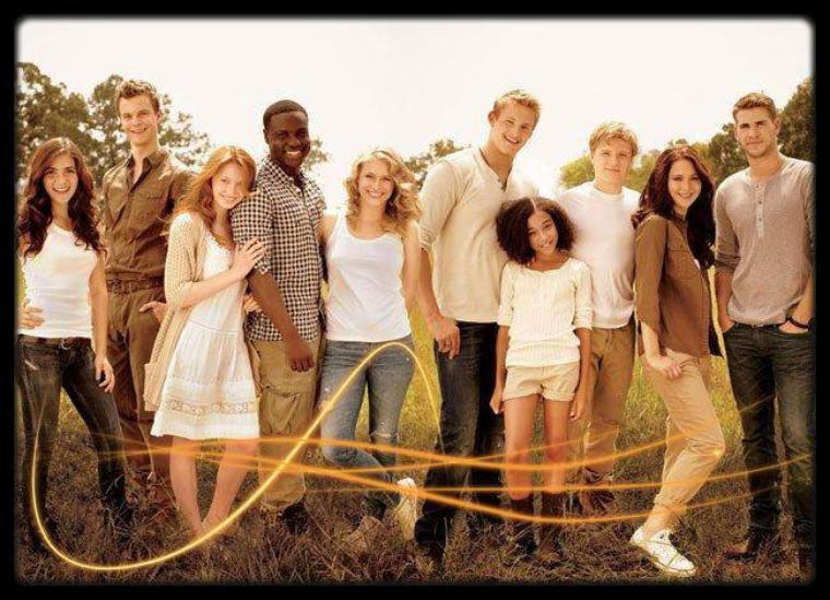 Young Team Of  Hunger Games ! :)