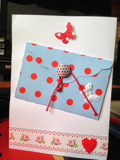 189 - SCRAPBOOKING - Carte fête des mères et pères