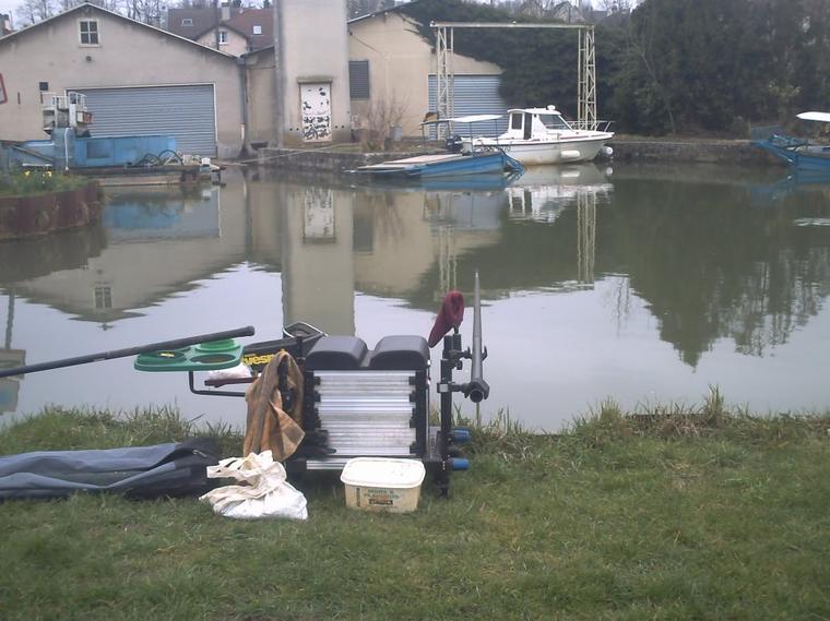 un après midi au bord de l'eau