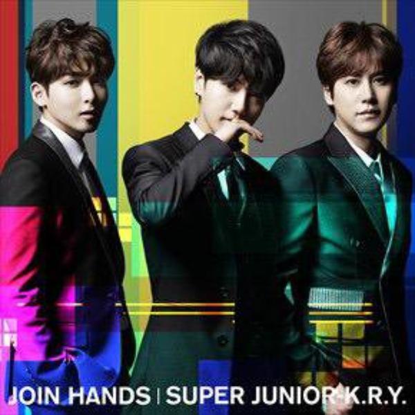 """Japon : Le trio Super Junior K.R.Y met en ligne les différentes pochettes de """"Join Hands"""""""
