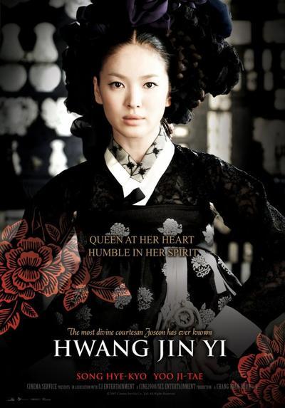 Film : Coréen Hwang Jin Yi 141 minutes [Romance, Drame et Historique]