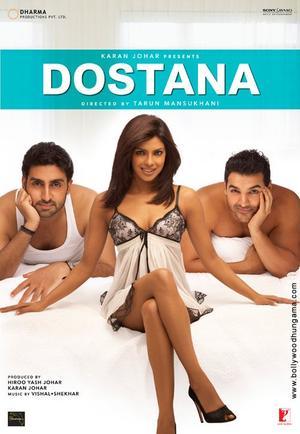 Film : Bollywoodien  Dostana 142 minutes[Romance et Comédie]