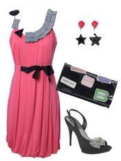 2eme tenue de la semaine avec une robe qu'on adore!! ;)