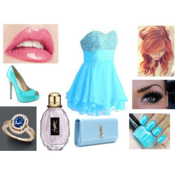 soirée bleu