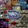 Interior visualisation. Anarchic mood board