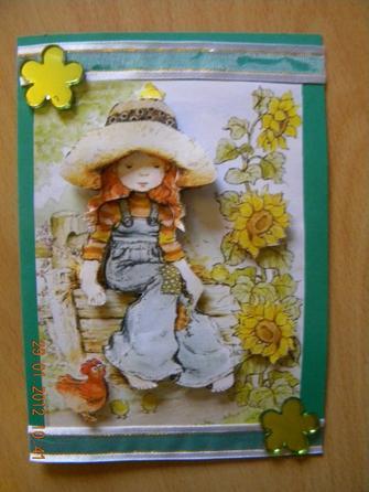 Carte 3 D SARAH KAY