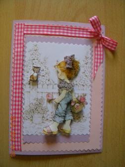 Cartes 3 D SARAH KAY