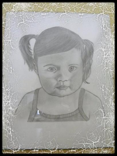 Mon premier portrait dessiné