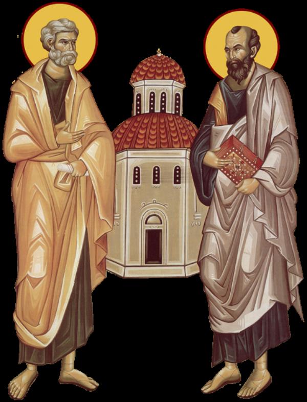 Cateva detalii (haioase) despre Sf. Petru si Pavel  |Sf. Petru Si Pavel