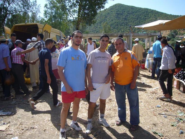 Cyclotourisme MAROC <3 ASCM <3 Chefchaouen &l e Pont de Dieu+cascade d'Akchour:Parc National de Talassemtane ^^ (11 et 12 Aout 2013)