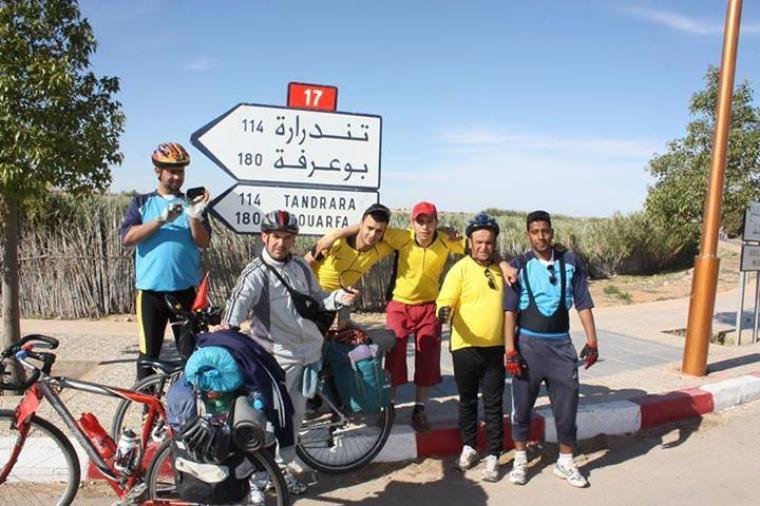 "Suite..   $)  ASCM  $) ,cyclotourisme n°1au Maroc.la sortie :Oujda,Jrada,Ain Beni Mathar,Tindrara,Bouarfa & Figuig""368km / du 20au 25 Avril 2014"""