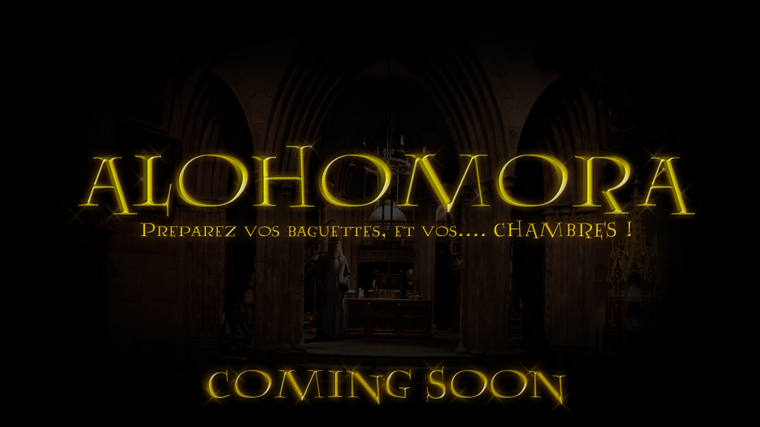 Alohomora - Maintenant sur mon blog !!!
